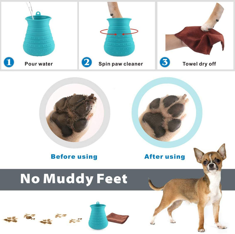 Idepet – Limpiador de patas de perro