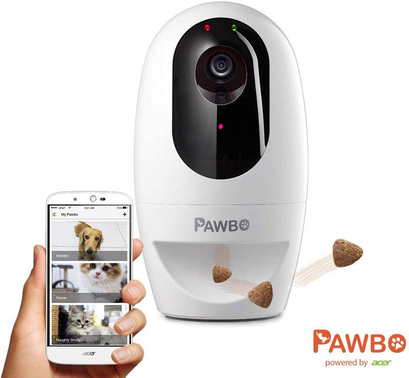 Pawbo Plus Cámara interactiva para Mascotas con tecnología Acer